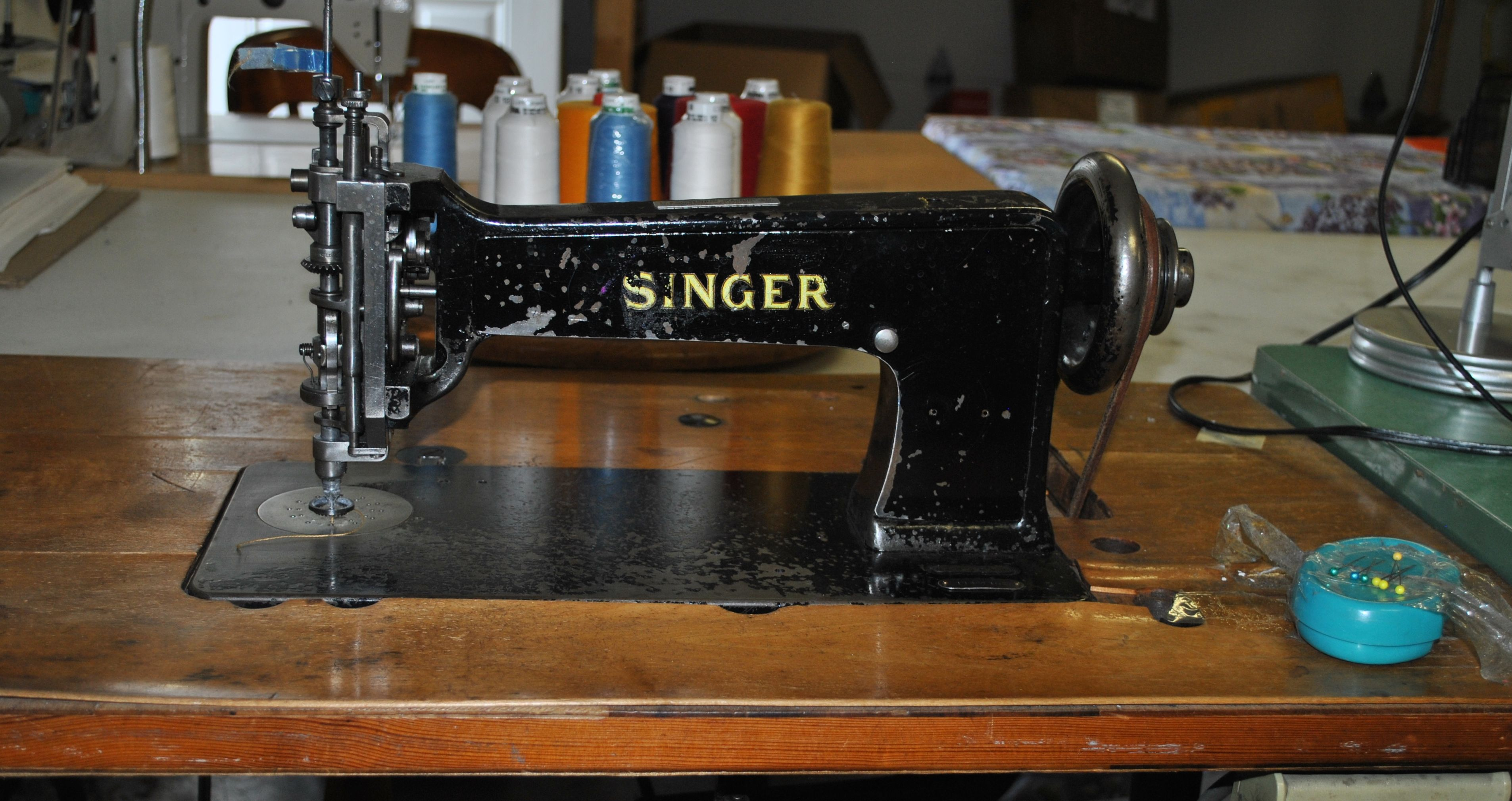 Singer — Our Work Horse. Amazing Piece Of Equipment.