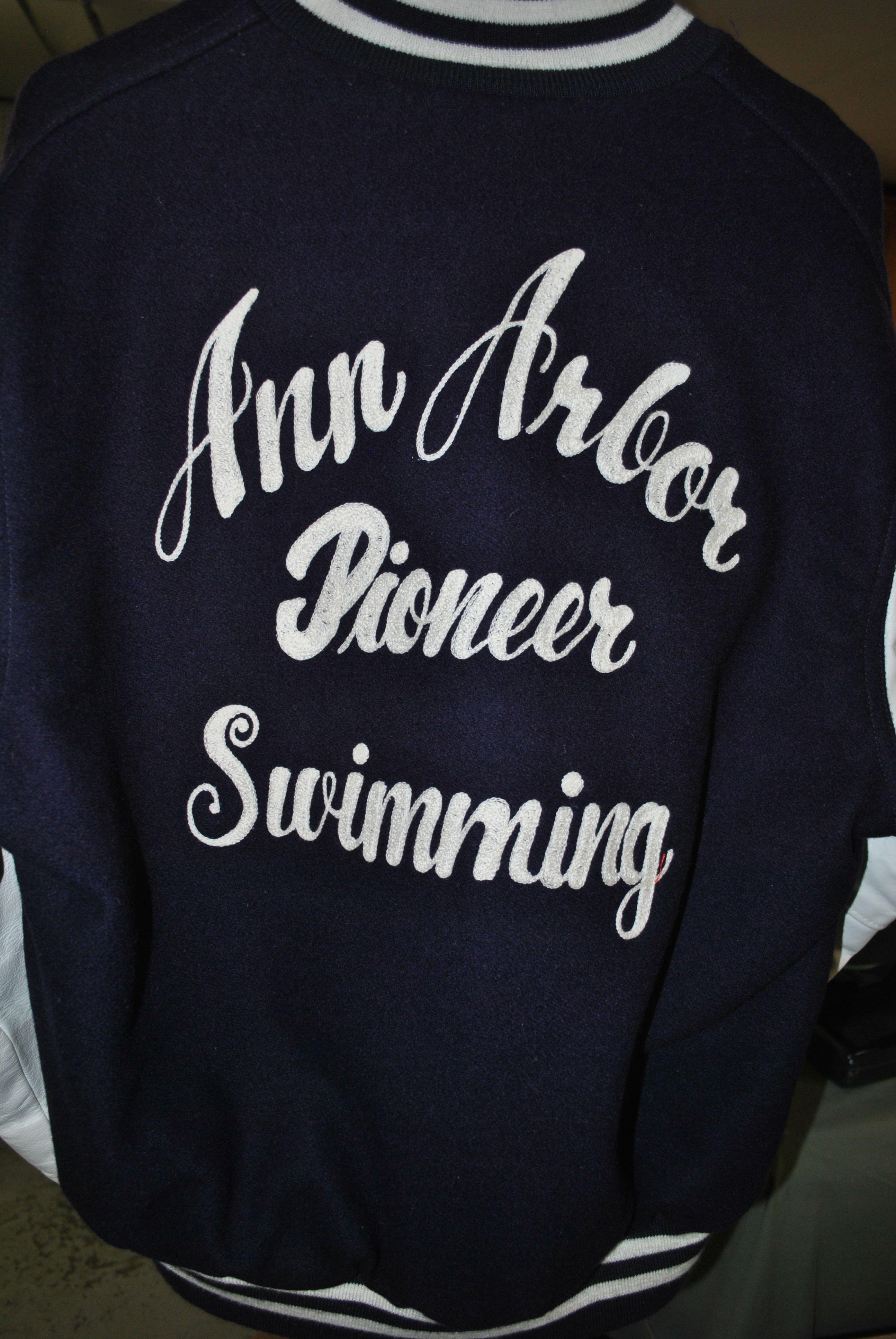 Ann Arbor Pioneer Varsity Jacket