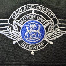Oakland Country Sheriff Motor Unit Logo on Hat