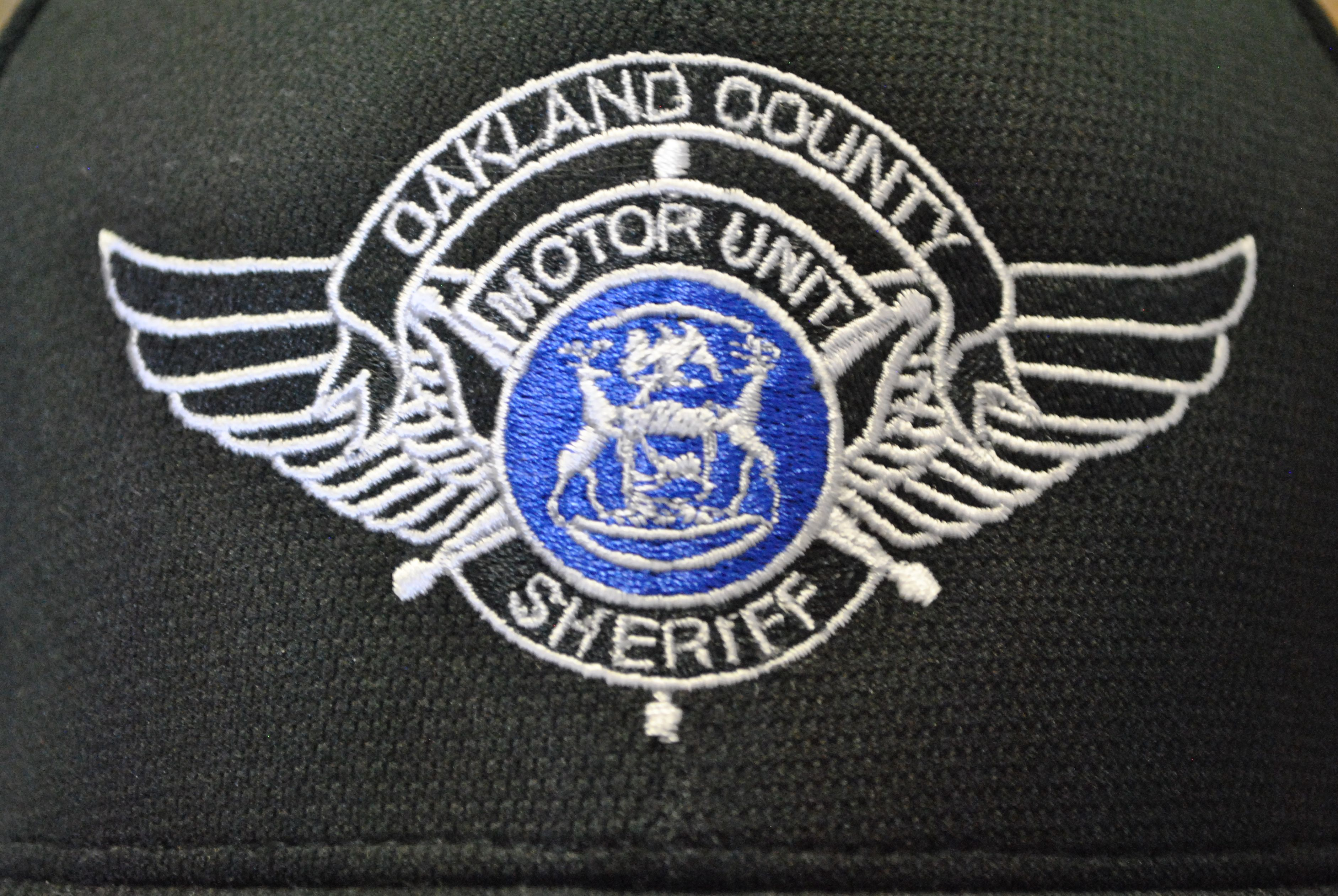 Oakland Country Sheriff Motor Unit Logo on Hat