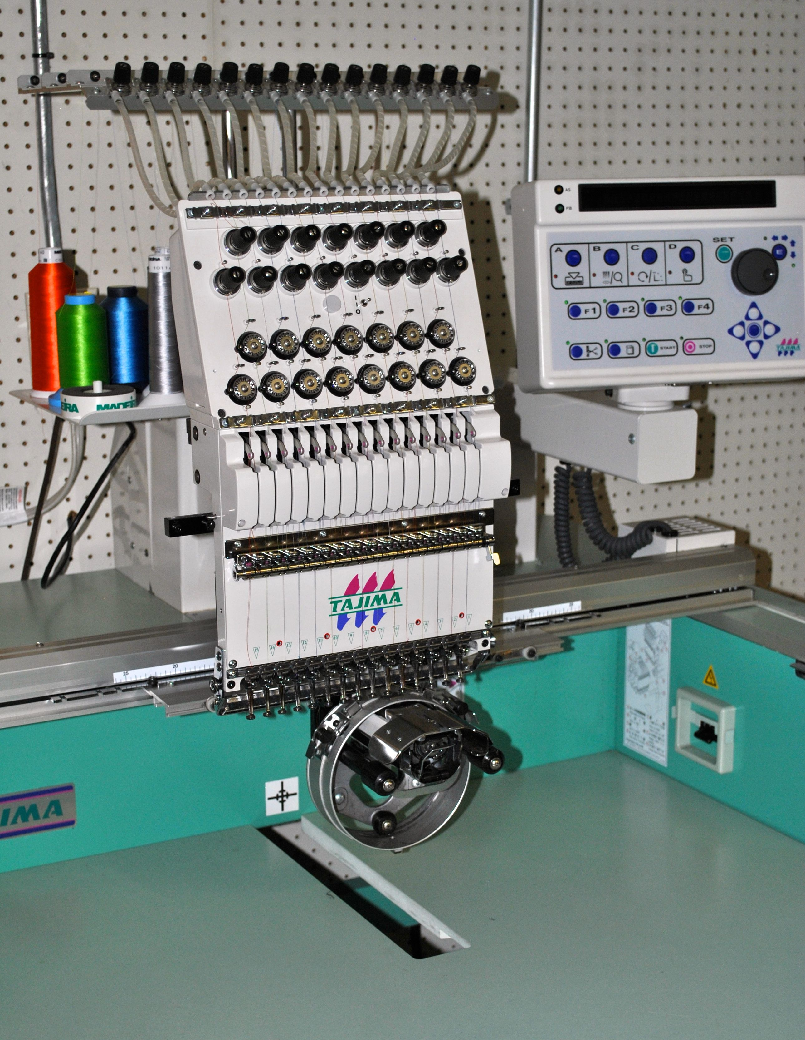 Tajima Embroidery Machine With Thread