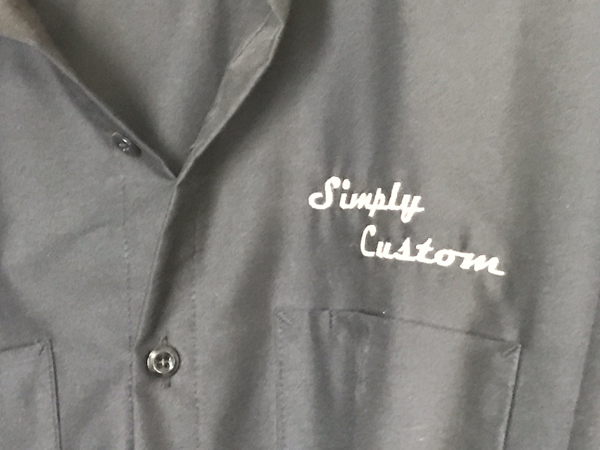 Simply Custom Button Down Shirt