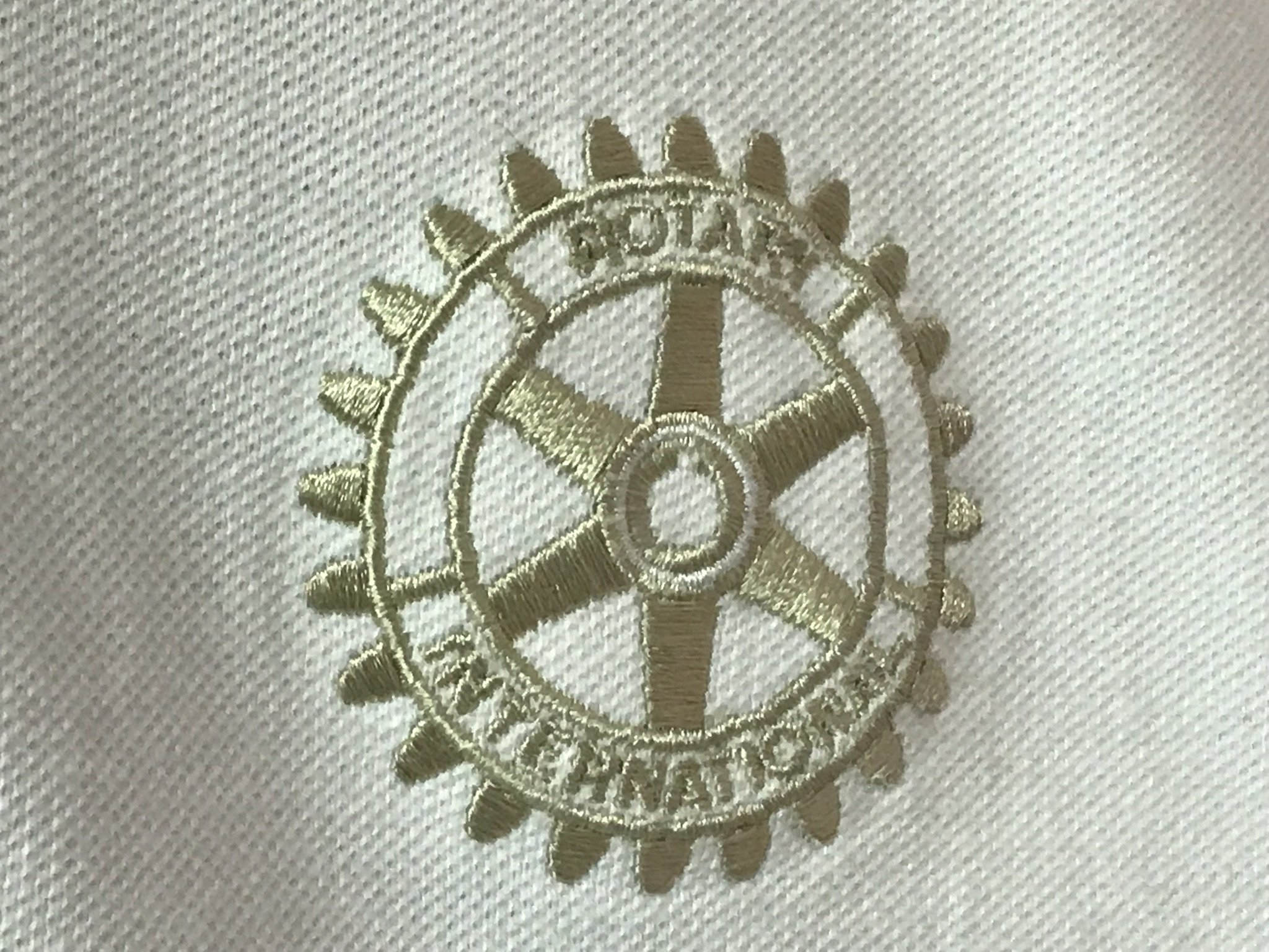 Rotary International Embroidered Shirt