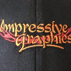 Impressive Graphics Logo On Cap